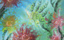 Pintura Mediumnica – Flores de otros mundos