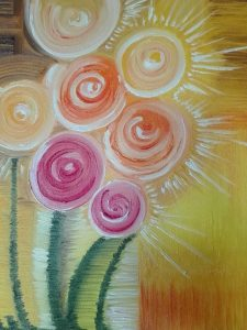 flor cuadro
